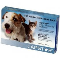 Capstar Tablets for Cats & Small Dogs - 11mg