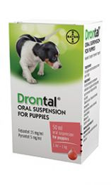 Drontal Puppy Suspension - 50ml