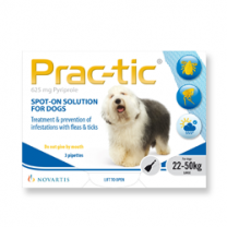 Prac-tic Spot-On for Large Dogs - 3 Pack
