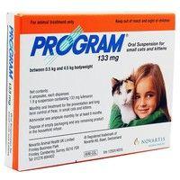 Program Cat Oral Suspension - 133mg